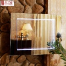 CE IP44 3D Bathroom LED Infinity Mirror  (Mainland China)