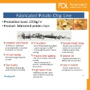 Industrial Fabricated Potato Chips Production Line (Hong Kong)