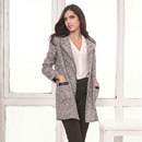 Tweed Long Coat (China)