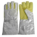 Aluminum High Temperature Antistatic Gloves (Hong Kong)