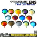 Multi-Layer Color Mirror Coating Lens (Taiwan)