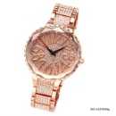 Crystal Accented Alloy Watch  (Hong Kong)