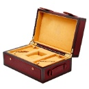 Wooden Watch Box with Real Leather (China)