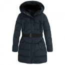 Belted Long Down Jacket (Hong Kong)