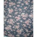 Cotton Flower Pattern Fabric (Hong Kong)