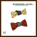 Fashion Handmade Natural Wooden Bow Tie for Men and Women with Gift Boxes, zipzap flat (100pcs/ctn) (Mainland China)