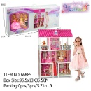 29 cm Bettina Doll House with Furniture (Mainland China)