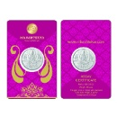 Silver Coin Packaging Card  (India)