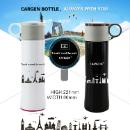 Vacuum Thermos, Stainless Steel Water Bottle, Insulated Stainless Steel Water Bottle (Hong Kong)