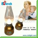 LED lantern led Kerosene lamp with remove battery (Mainland China)