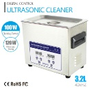 Industrial 3.2L Stainless Steel 220w Ultrasonic Cleaner & Timer JP-020S(Digital, 3.2L, 0.75gallon) (Mainland China)