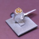 925 Silver Ring With CZ (Taiwan)
