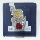 Diamond Ruby Ring (USA)