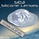 SIO3 Silicone Lenses for COB-LEDs (Italy)