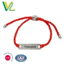 Fashionable Hammer Red Cord Bracelet  (Hong Kong)