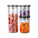 New Glass Jar with Lid (China)
