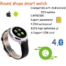 Stainless steel Smart Watch With Sim Card Slot (China)