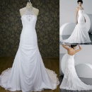 2016 High Quality New Beautiful A Line Wedding Dress White Heavy Beaded Lace Bridal Dress (Mainland China)