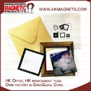Magnetic Square Post Frame with Envelop (Hong Kong)