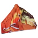 Customized Colorful Portable Polyester Instant Cooling Beach Towel (Hong Kong)