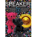 Blue Booth Bear Speaker (Hong Kong)