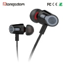 RoHS Headphones Wired Earphones 3.5mm Stereo with Mic (China)