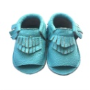 New Arrival Fringed Soft Sole Baby Moccasins Sandals (China)