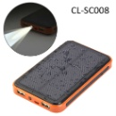 10000mAh Solar Power Phone Charger (China)