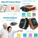 Adult GPS Tracker Watch with heart rate monitor (China)