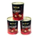Canned Whole Lychee (China)