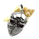 High Polish Steel Skull Pendant for Men and Boy (China)