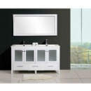High Quality Painting Bathroom Cabinet with Wash Basin (Mainland China)