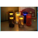 Smart LED Table Lamp Wireless Bluetooth Speaker Night Light Built-in Mic Support Hands-Free Call (China)