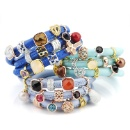 Genuine Leather Bracelets with Slider Charms (Mainland China)