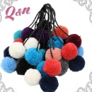 Custom Cotton Polyester Wool Pom Poms (Mainland China)