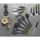 6 Pieces Nylon Kitchen Utensil Set with stand, Kitchen tools (Hong Kong)