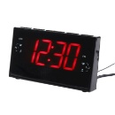 LED Digital AM/FM Radio Alarm Clock (China)