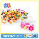 Plastic Colorful DIY Plastic Bead Toy for Girl (Hong Kong)