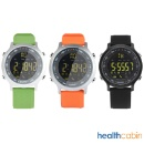 Smart Watch 5ATM Waterproof Pedometer Bluetooth 4.0 for Android IOS (Silica gel) EX18 (Hong Kong)