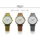 Custom Your Logo Rose Gold Alloy Charming Simple Couple Watches (Mainland China)