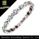 Stainless Steel Crystal Women Bracelet (Mainland China)
