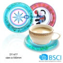 BSCI Factory Made PVC Tray PVC Coaster (Mainland China)
