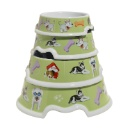 Melamine Dog Bowl Set (Hong Kong)