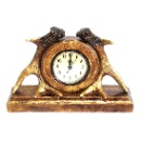 Antique Polyresin Clock (Hong Kong)