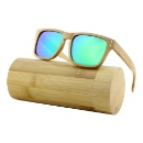 Cat.3 Polarized 2017 Bamboo Sunglasses Private Label (Mainland China)