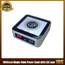 Magic Cube Power Bank with LED Logo (Hong Kong)