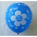 "12"" Happy Birthday Printed Latex Balloon (Mainland China)"