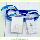 PMMA Employee ID Card Sleeve with Rope (China)