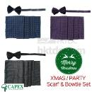 Party Bowtie Scarf Set (Hong Kong)