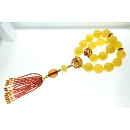 Beeswax Prayer Beads Roll  (Taiwan)